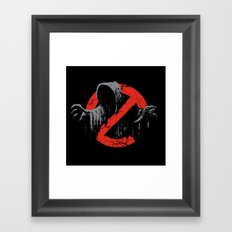 Ain't afraid of no wraith Framed Art Print