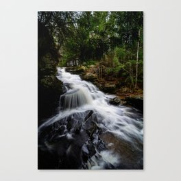 Garden Brook Falls Canvas Print