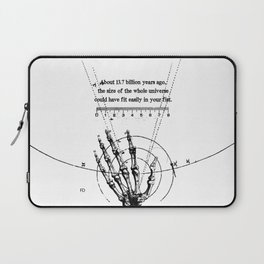 A Universe in a fist. Laptop Sleeve