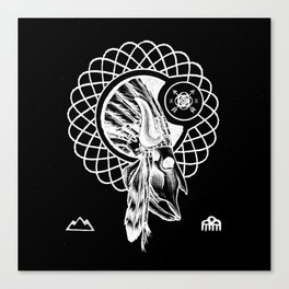 SPIRIT PATH Canvas Print