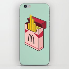 Pocket french fries iPhone Skin