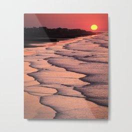 Folly Sunrise Metal Print