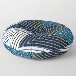 Movin Up 2 by Kimberly J Graphics Floor Pillow