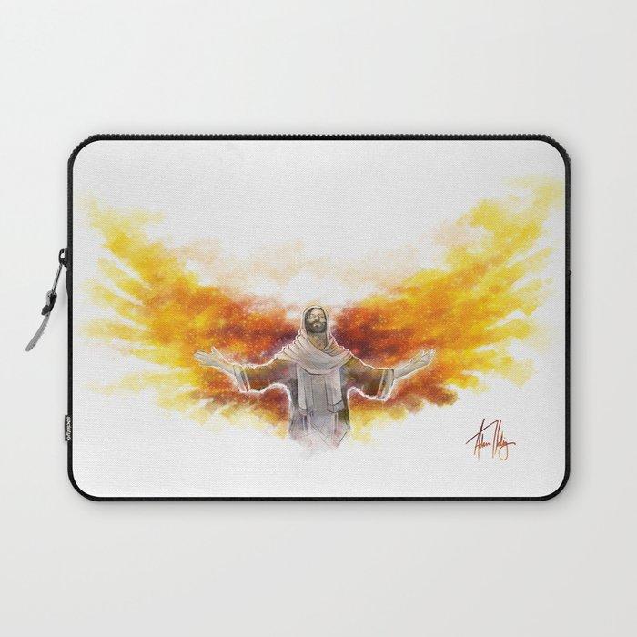 On Wings Like Eagles (Isaiah 40:31) Laptop Sleeve