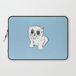 Black Metal Kitty Laptop Sleeve