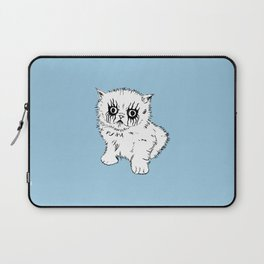 Black Metal Kitty Laptop Sleeve