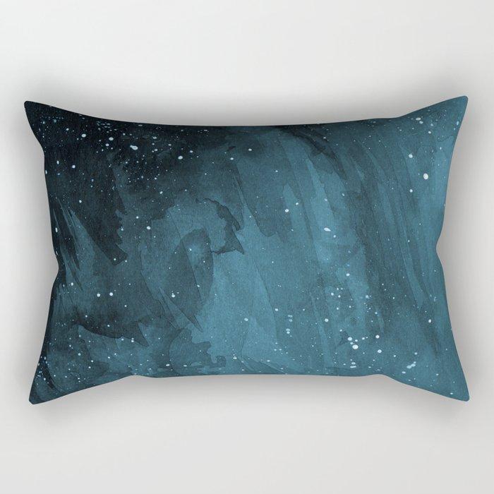 Blue Shift Rectangular Pillow