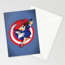 Peggy Carter Stationery Cards