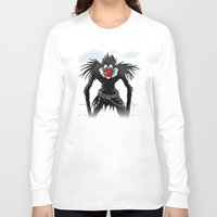 magritte Long Sleeve T-shirts featuring Ryuk Magritte by le.duc