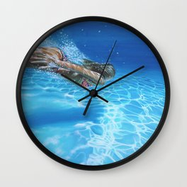 Sea pleasure Wall Clock