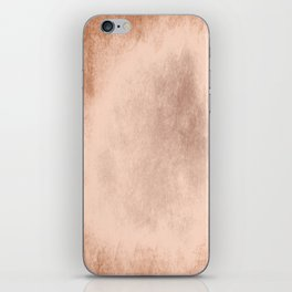 Brown grunge texture iPhone Skin