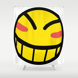 Cowboy Bebop - Hacker Smile Shower Curtain
