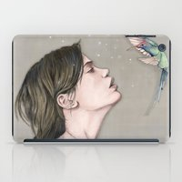 pixies iPad Cases featuring The Pixies by Talia Gavish