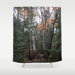 Woods 2 Shower Curtain