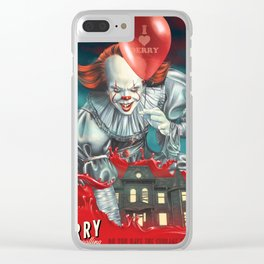 IT love two Clear iPhone Case
