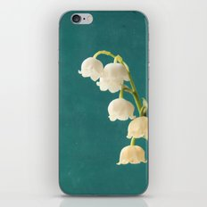 Botanical Flower Photograph - Lilies of the Valley iPhone Skin