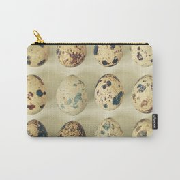 Quail Eggs Carry-All Pouch