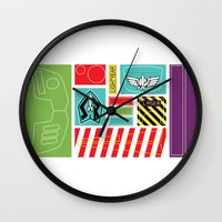 stickers Wall Clocks featuring TOY STORY : BUZZ LIGHTYEAR STICKERS KIT by DrakenStuff+