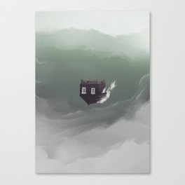 Unsettled Canvas Print