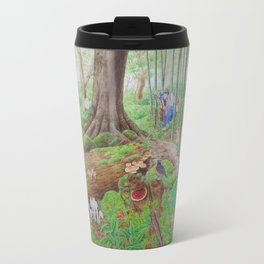 A Day of Forest (4). (the lake ecosystem) Travel Mug