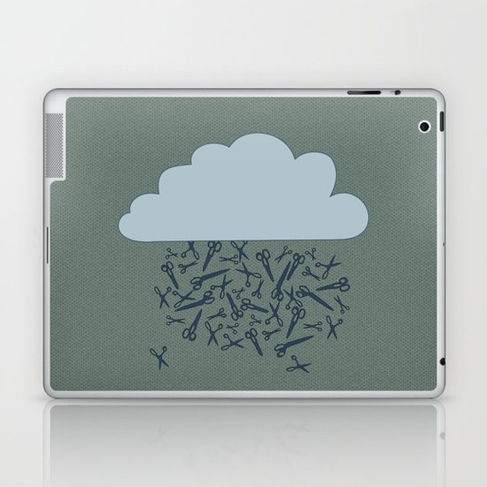 IT'S RAINING BLADES Laptop & iPad Skin