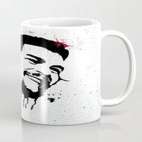 che Mugs featuring Che by Cynthia Alvarez
