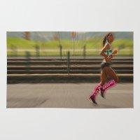 run Area & Throw Rugs featuring Run by Sébastien BOUVIER