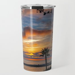 Colorful Sunset at Lookout Point Travel Mug