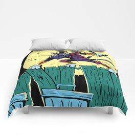 Ninja Cat! Comforters