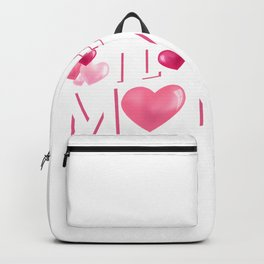 I Love My Mommy Mother's Day Gift Cute Kids Backpack