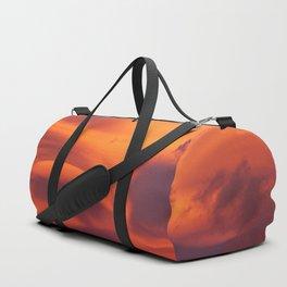 Strange sunset Duffle Bag