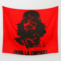 la Wall Tapestries featuring Viva la Empire! by 6amcrisis