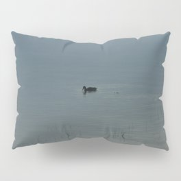 Morning Blue: Mallard Pillow Sham