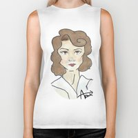 peggy carter Biker Tanks featuring Peggy Carter by Ash AROUH