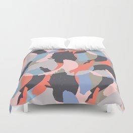 Modern abstract print Duvet Cover