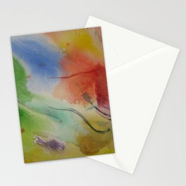 Watercolor Rhapsody Stationery Cards