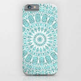 A Glittering Mandala iPhone Case