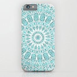 A Glittering Mandala iPhone Case