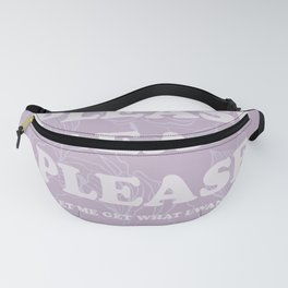 The Best of (Please, let me get what I want-The Smiths) Fanny Pack