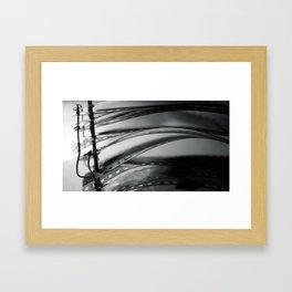 Negatives Framed Art Print