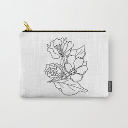 simple florals Carry-All Pouch