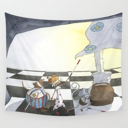 Three Blind Mice Wall Tapestry