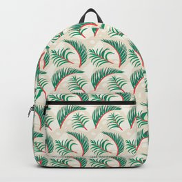Calm Forest Ferns - Cream Backpack