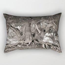 1000 years old chestnut tree Rectangular Pillow