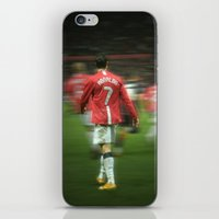 ronaldo iPhone & iPod Skins featuring Ronaldo by Shyam13