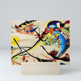 The Bird by Wassily Kandinsky Mini Art Print