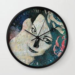 Sick On Sunday Wall Clock