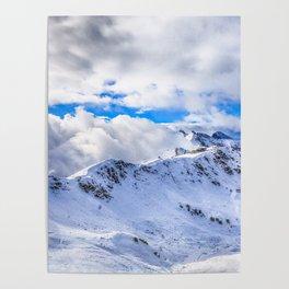 Caucasian ridge Poster