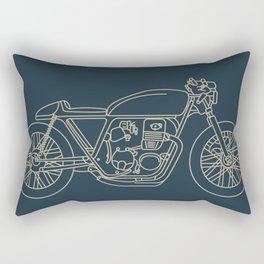 Cafe Racer 1 Rectangular Pillow