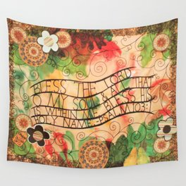 Psalm 103:1 Wall Tapestry